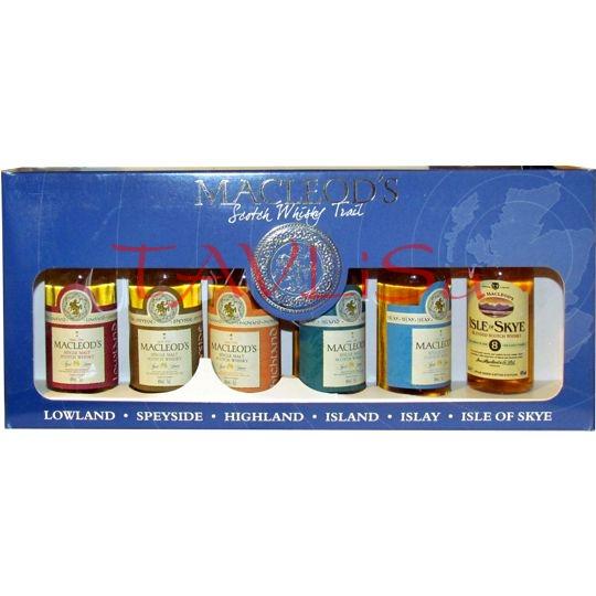 Whisky Macleods 40% 50ml x 6ks sada miniatur