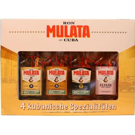Rum Mulata Sada Ron 40ml x4 ks miniatura