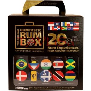 Around The World in 20 Rums x 20ml miniatura