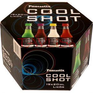 Cool Shot Funtastix 20ml x19 ks miniatura