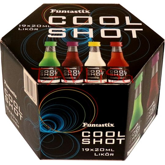 Cool Shot Funtastix 20ml x19 ks miniatura