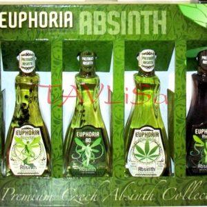 Absinth Euphoria Sada 50ml x 4ks miniatura