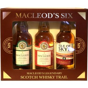 Whisky Macleods 40% 50ml x 6ks sada 6 Six miniatur