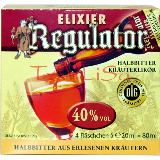 Regulator Krauter Elixier 40% 20ml x4ks miniatura